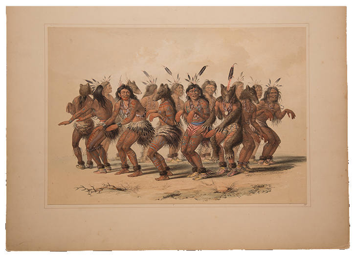 Print by George Catlin